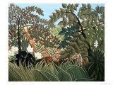 Exotic Landscape Giclee Print by Henri Rousseau