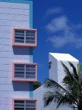 Art Deco District, South Beach, Miami, Florida Fotografisk trykk av Greg Johnston