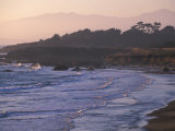 Moonstone Beach, Cambria, Napa Valley, California Reproduction photographique par Nik Wheeler