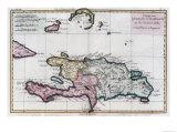 Dominikaaninen tasavalta Giclée-vedos