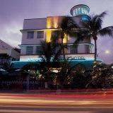 Art Deco Architecture, South Beach, Miami, Florida Fotografie-Druck von Robin Hill