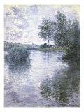Le Seine a Vetheuil Giclée-Druck von Claude Monet