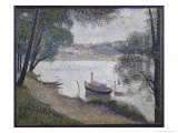 Gray Weather Gicléedruk van Georges Seurat