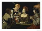 Cheat with c.1635 Giclee Print by Georges de La Tour