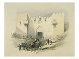 Damascus Gate, Jerusalem Giclee Print by David Roberts