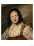 Gypsy Girl, c.1628-30 Giclee Print by Frans Hals