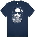 O Grande Lebowski - O Dude Abides Camisetas