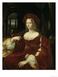 Portrait of Joanna of Aragon, c.1518 Reproduction procédé giclée par  Raphael