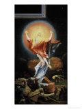 The Isenheim Altarpiece, Resurrection Giclée-tryk af Matthias Grünewald