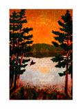 Northern Lake Giclee Print by John Newcomb