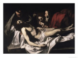 The Deposition, 17th century Giclée-tryk af Jusepe de Ribera