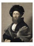 Baldassare Castiglione, c.1516 Reproduction procédé giclée par  Raphael