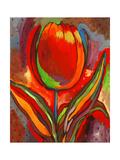Kandinsky's Prize Tulip Giclee Print by John Newcomb