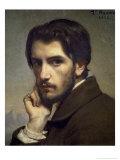Self Portrait, c.1855 Giclée-vedos tekijänä Leon Joseph Florentin Bonnat