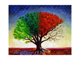 Tree For All Seasons Giclee Print by John Newcomb