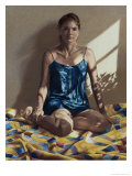 Light and Shadows and a Seated Woman, c.1997 Giclée-Druck von Helen J. Vaughn