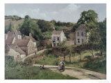 Route de campagne Reproduction procédé giclée par Camille Pissarro