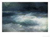 Between The Waves Reproduction procédé giclée par Ivan Konstantinovich Aivazovsky