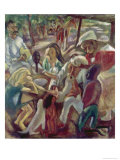 Good Samaritan Gicléetryck av Jules Pascin