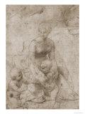 Madonna and Child with John Reproduction procédé giclée par  Raphael