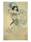 Dance of the Seven Veils, c.1908 Giclee Print by Leon Bakst
