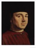 Portrait of a Man Giclée-tryk af  Antonello da Messina