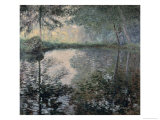 The Pond of Montgeron Impressão giclée por Claude Monet