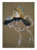 La Chanteuse: Yvette Gilbert Lámina giclée por Henri de Toulouse-Lautrec