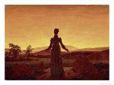 Morning Light Giclee Print by Caspar David Friedrich