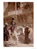 The Triumphal Procession Gicléedruk van Edwin Lord Weeks