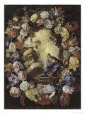 The Annunciation Giclée-tryk af Carlo Maratti
