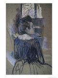Woman at the Window, c.1889 Lámina giclée por Henri de Toulouse-Lautrec