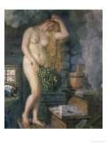 Russian Venus Giclee Print by B. M. Kustodiev