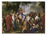 Sermon on the Mount Giclee Print by Hendrick Krock