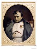 Napoleon in Fountainebleau Lámina giclée por Paul Delaroche