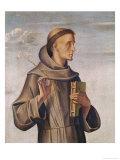Saint Anthony Giclée-Druck von A. Vivarini