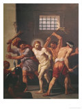 The Scourging of Christ Giclee Print by Hendrick Krock