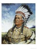 Old Chief American Horse Giclee Print by Henri Edmond Cross