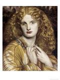 Helen of Troy Giclée-tryk af Dante Gabriel Rossetti