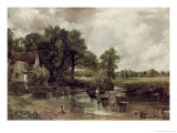 The Haywain Giclee Print by John Constable