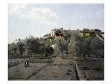 Pontoise Reproduction procédé giclée par Camille Pissarro