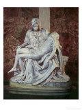The Pieta Lámina giclée por Michelangelo Buonarroti,