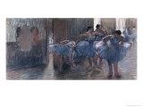 Bailarines Lámina giclée por Edgar Degas
