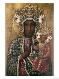 Black Madonna of Czestochowa Giclée-vedos