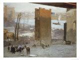 Lone Tenament Giclee-trykk av George Bellows