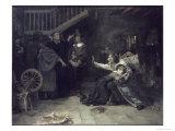 Accused of Witchcraft Giclée-Druck von Douglas Volk