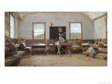 The Country School Giclee Print by Winslow Homer