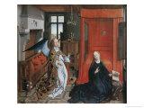 The Annunciation, no.2 Reproduction procédé giclée par Rogier van der Weyden