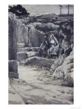 Two Marys' Watch the Tomb of Jesus Giclee Print by James Tissot