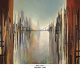 Bridges and Towers Print by Gregory Lang